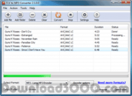Abyssmedia FLV to MP3 Converter screenshot
